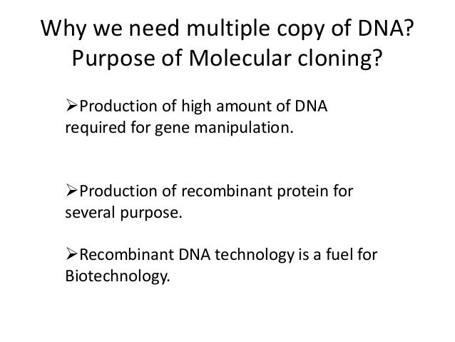 application of recombinant dna technology in agriculture slideshare