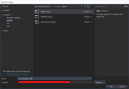 using visual studio c++ to make a simple application