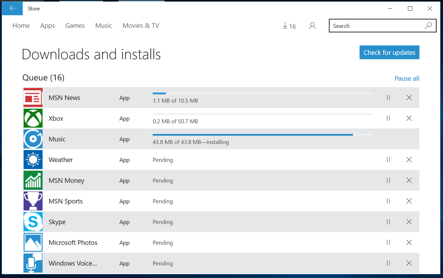 currently install applications and windows 10 pro upgrade