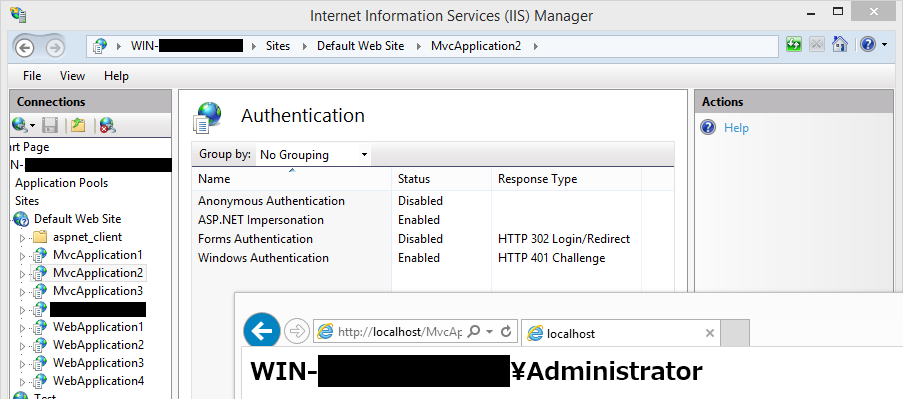 iis application pool identity localsystem